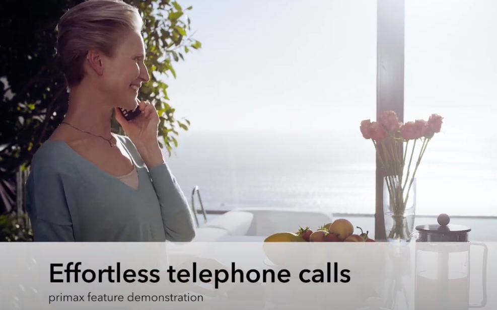 primax TwinPhone: Effortless telephone calls – Listening Demo | Signia Hearing Aids