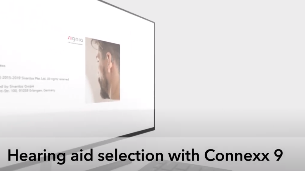 Hearing aid selection with Connexx 9 | Signia Hearing Aids