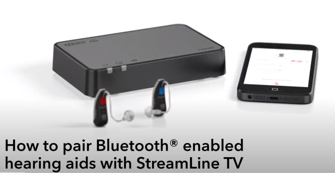 """How to pair """"Made for iPhone"""" hearing aids with Apple iPhone and StreamLine TV 